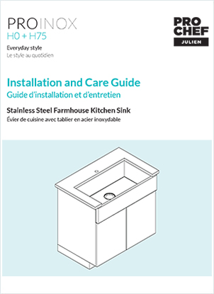 How To Install A Stainless Steel Kitchen Sink And Fireclay